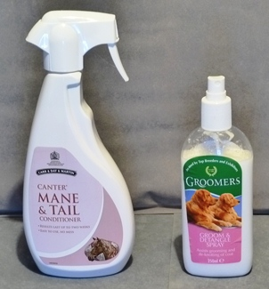Grooming Spray and Mane and Tail Spray